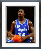 Los Angeles Lakers Shaquille O'Neal Action Framed Photo