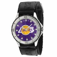 Los Angeles Lakers Veteran Velcro Mens Watch