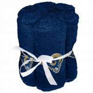 Los Angeles Rams 6 Pack Washcloths