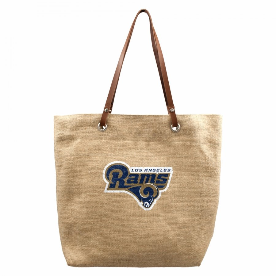 Los Angeles Rams Alternate Burlap Market Tote