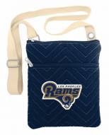 Los Angeles Rams Alternate Chevron Stitch Crossbody Bag