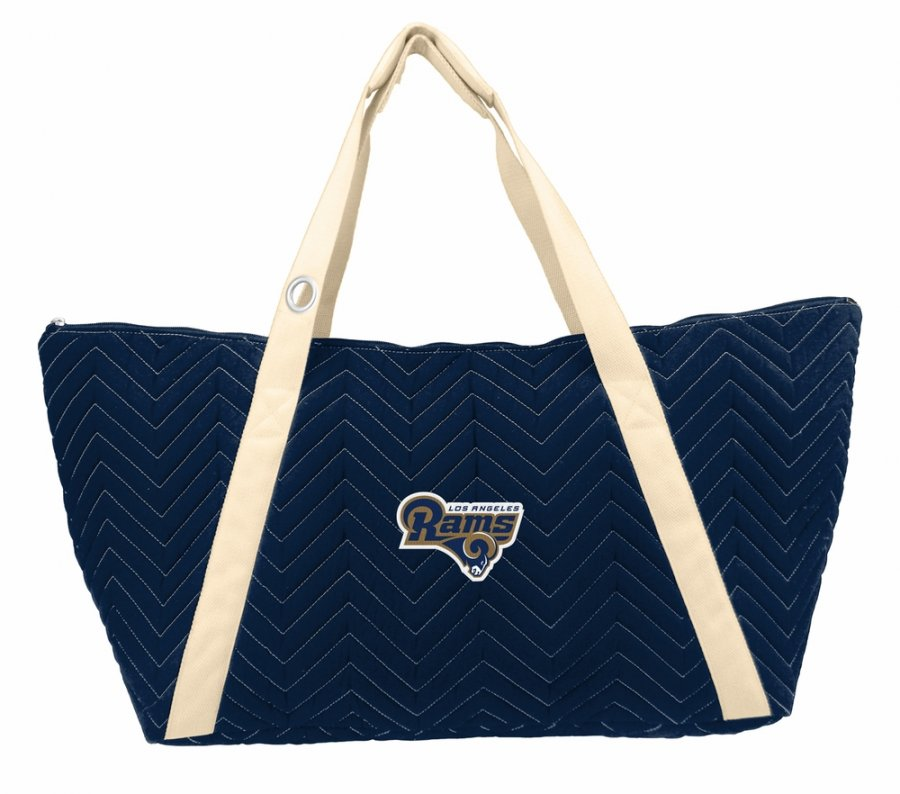 Los Angeles Rams Alternate Chevron Stitch Weekender Bag