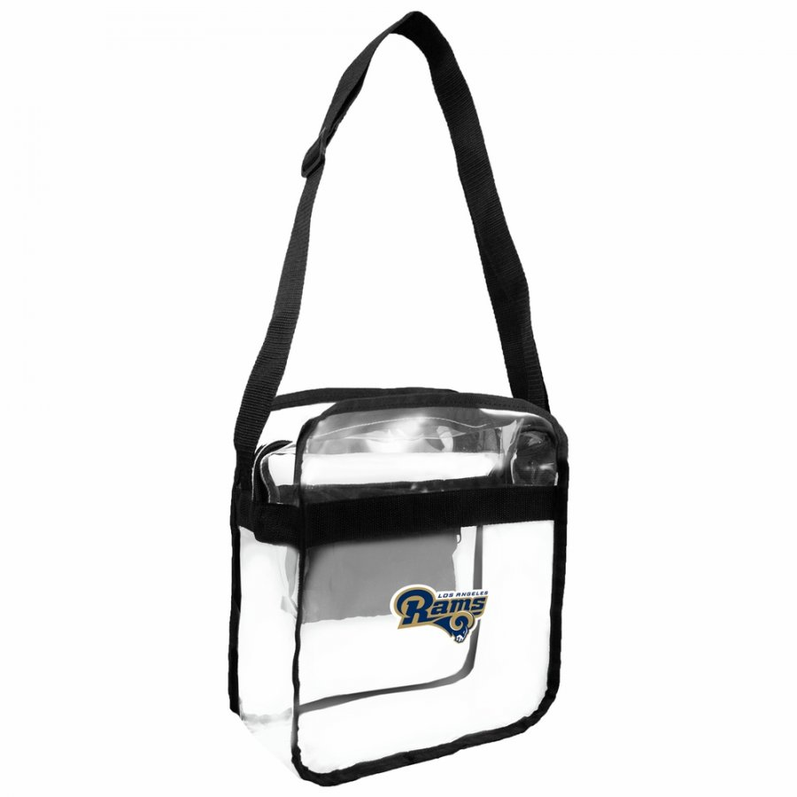 Los Angeles Rams Alternate Clear Crossbody Carry-All Bag