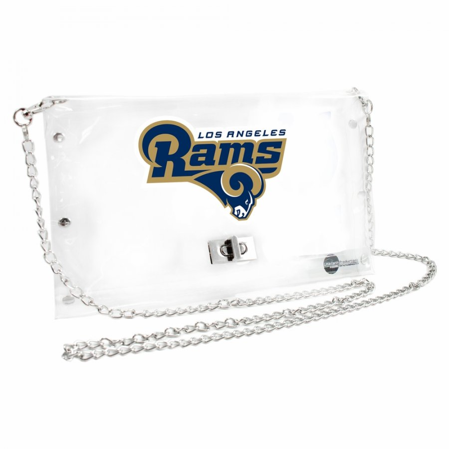 Los Angeles Rams Alternate Clear Envelope Purse