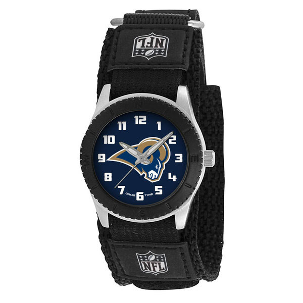 Los Angeles Rams Black Rookie Kids Watch