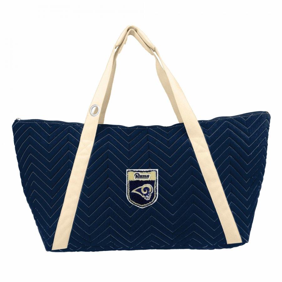 Los Angeles Rams Crest Chevron Weekender Bag