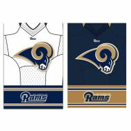 Los Angeles Rams Double Sided Jersey Garden Flag