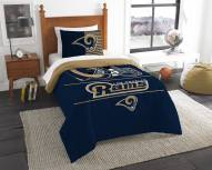 Los Angeles Rams Draft Twin Comforter Set