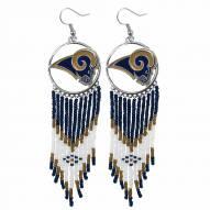Los Angeles Rams Dreamcatcher Earrings