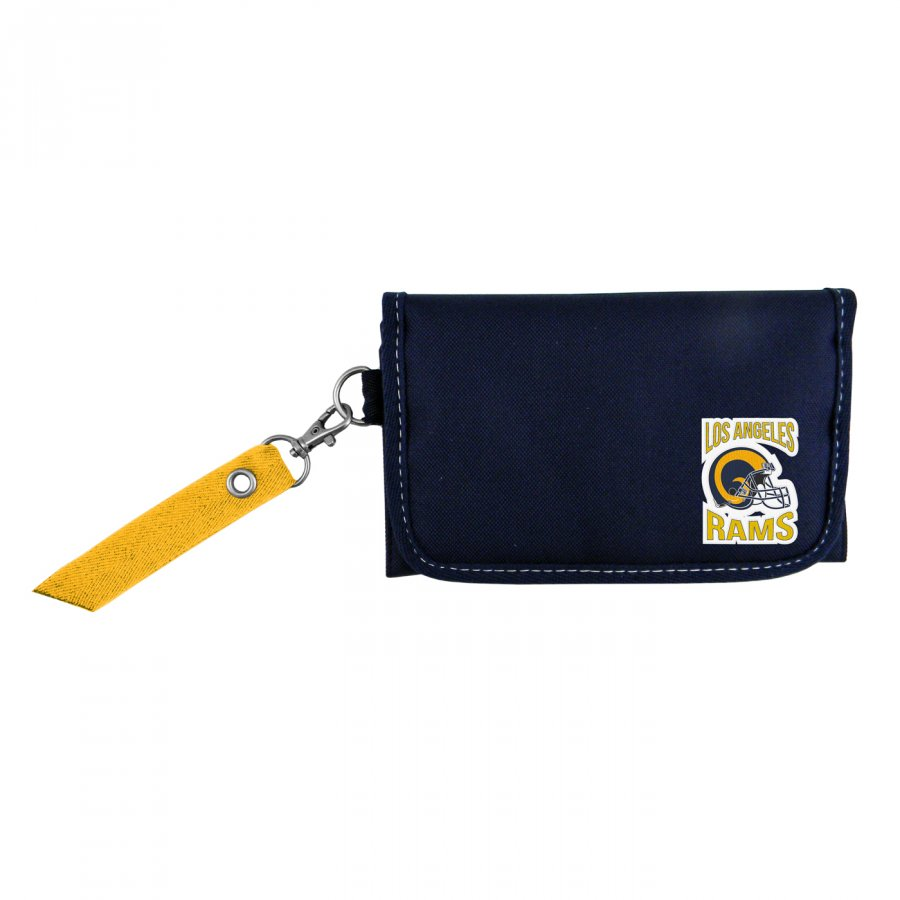 Los Angeles Rams Ribbon Organizer Wallet