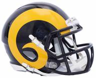 Los Angeles Rams Riddell Speed Replica Color Rush Football Helmet