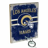 Los Angeles Rams Ring Toss Game