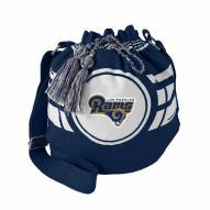 Los Angeles Rams Ripple Drawstring Bucket Bag