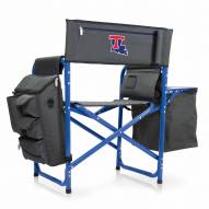 Louisiana Tech Bulldogs Gray/Blue Fusion Folding Chair
