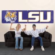 Louisiana Tigers NCAA 8' Banner