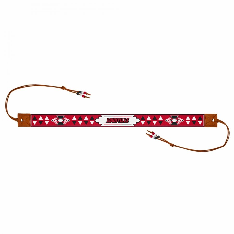 Louisville Cardinals Beaded Headwrap