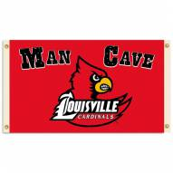 Louisville Cardinals Man Cave 3' x 5' Flag
