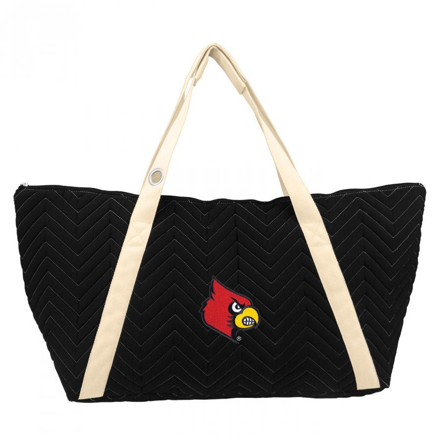Louisville Cardinals Chevron Stitch Weekender Bag