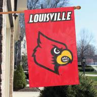 Louisville Cardinals NCAA Embroidered / Applique College Flag Banner