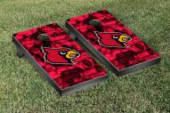 Louisville Cardinals Fight Song Cornhole Game Set