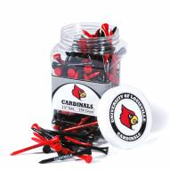 Louisville Cardinals 175 Golf Tee Jar