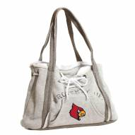 Louisville Cardinals Hoodie Purse