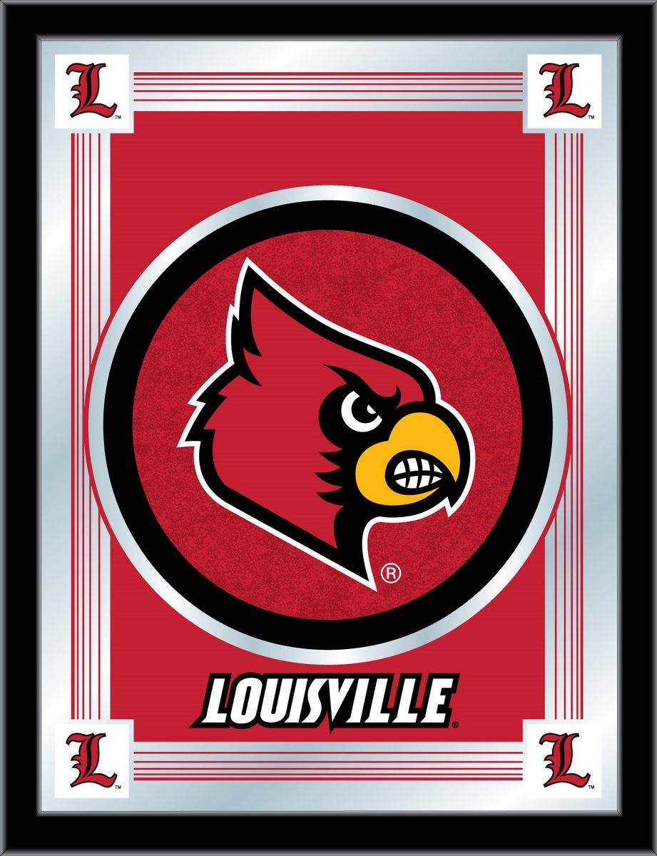 Louisville Cardinals Logo Mirror