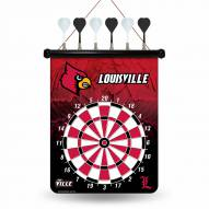 Louisville Cardinals Magnetic Dart Board