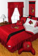 Louisville Cardinals NCAA Sideline Bed Set