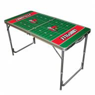 Louisville Cardinals Outdoor Folding Table
