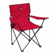 Louisville Cardinals Quad Folding Chair