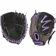 "Louisville Slugger Diva Fastpitch 10.5"" Fielding Glove - Hot Purple -  Right Hand Throw"