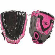 "Louisville Slugger Diva Fastpitch 11"" Fielding Glove - Hot Pink - Left Hand Throw"