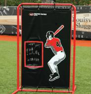 Louisville Slugger Practice Partner Silver Dual Sport Batter/Receiver Canvas Catcher