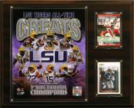 "LSU Tigers 12"" x 15"" All-Time Greats Photo Plaque"