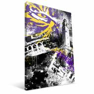 "LSU Tigers 16"""" x 24"""" Spirit Canvas Print"