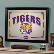 "LSU Tigers 23"" x 18"" Mirror"