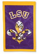 "LSU Tigers NCAA 28"" x 44"" Applique Flag"