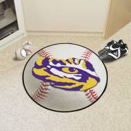 LSU Tigers Baseball Rug