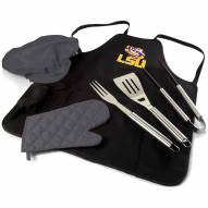 LSU Tigers BBQ Apron Tote Set