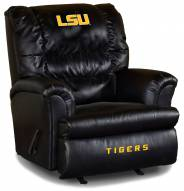 LSU Tigers Big Daddy Leather Recliner