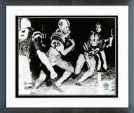 LSU Tigers Billy Cannon Action Framed Photo