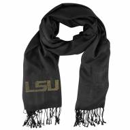 LSU Tigers Black Pashi Fan Scarf