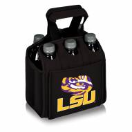 LSU Tigers Black Six Pack Cooler Tote