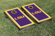 LSU Tigers Border Cornhole Game Set