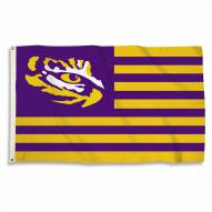 LSU Tigers 3' x 5' Striped Flag