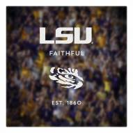 LSU Tigers Canvas Logo Art