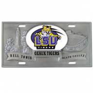 LSU Tigers Collector's License Plate