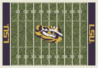 LSU Tigers College Home Field Area Rug