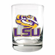 LSU Tigers College 2-Piece 14 Oz. Rocks Glass Set